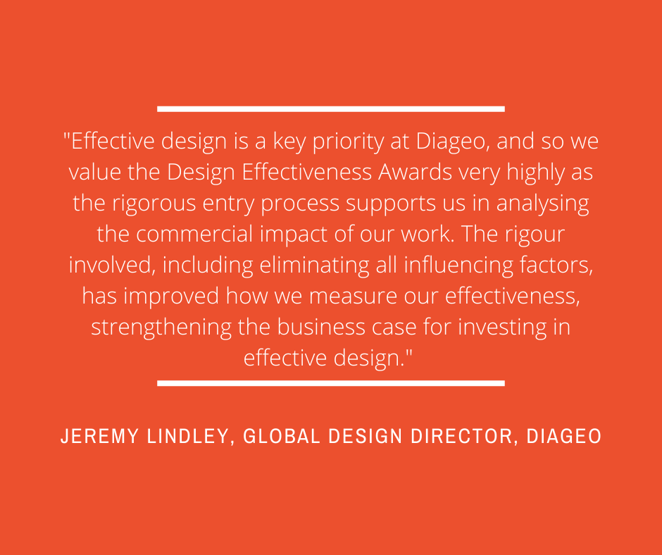 Jeremy Lindley, Global Design Director at Diageo