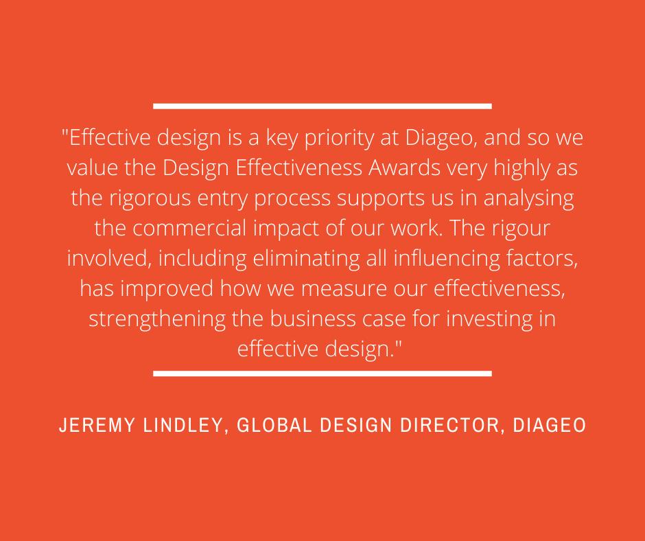 Jeremy Lindley, Global Design Director at Diageo